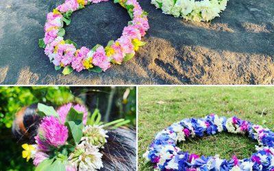 【Leiづくり・髪飾りづくり】秋の草花に触れるワークショップ